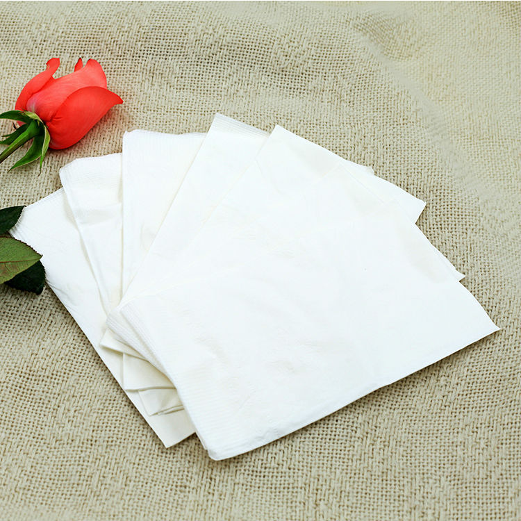 folding tissue paper napkins printed decorative party dinner napkin paper napkin