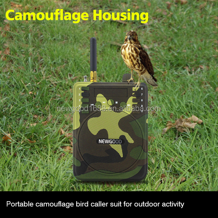 150Db 1000M Remote control Hunting Speakers Fm Radio Bird Caller Duck Decoy Animal Bird Sound Calls Outdoor hunting