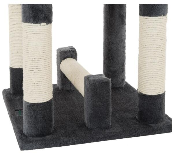 QQPET BSCI Factory Cat Tree House Furniture for Cats and Kittens With Deluxe Playground
