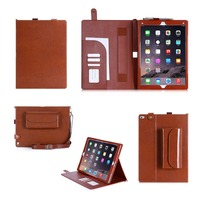 Wholesale Product With Strap Case Fashion Wallet Tablet Case For iPad Air 2