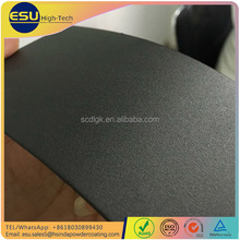 Hsinda black sand grain texture finish outdoor furniture polyester powder coating