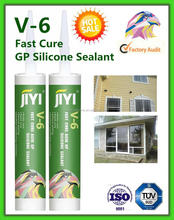 V-6 ADHESIVE SEALANT ACID GLASS SILICONE SEALANT