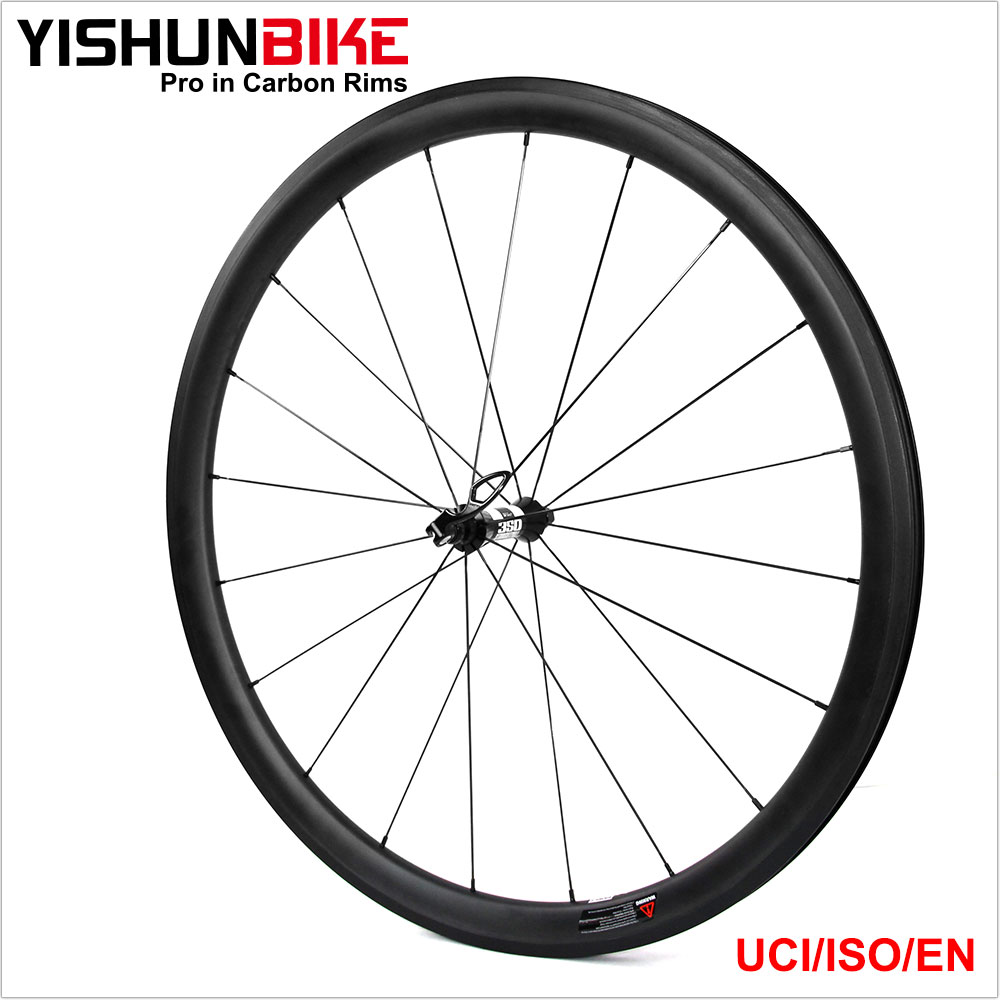 2017 PRO Race Carbon road bike 700C 350s Hub carbon bicycle wheel clincher/tubular/tubeless 33mm 350S-330C