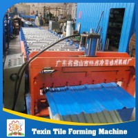 Hot sale metal roof tile machine