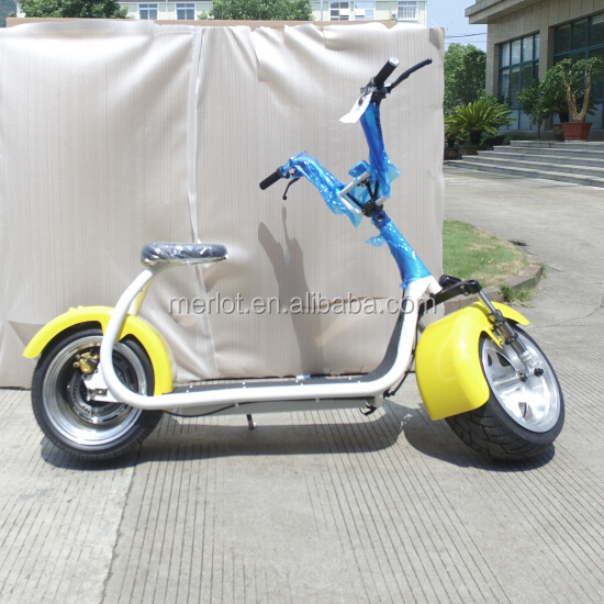 2016 hot sale 1000W citycoco electric double seat mobility scooter
