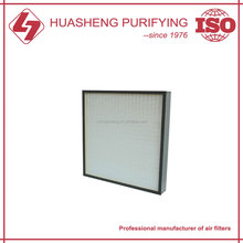 HEPA air filter for home furnace filtration system