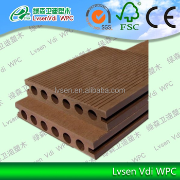 WPC Decking, Wood Plastic Composite Decking