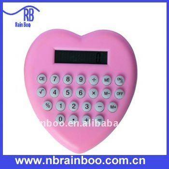 heart shape promotional calculator