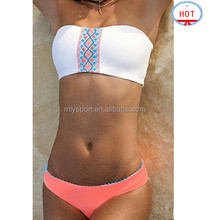 Private Label OEM Custom Bathing Suits Swimwear Manufacturer Seamless Sexy european style beach girl micro bikini
