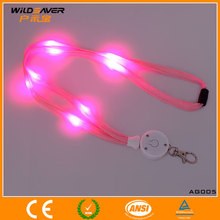 LED lanyard plastic buckle for strapping with LED lights