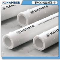 wholesale polypropylene pipe german standard ppr pipe made in china 20mm pn16 ppr pipe .