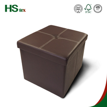 HStex furniture ottoman collapsible ottoman storage in 38x38cm for shoes