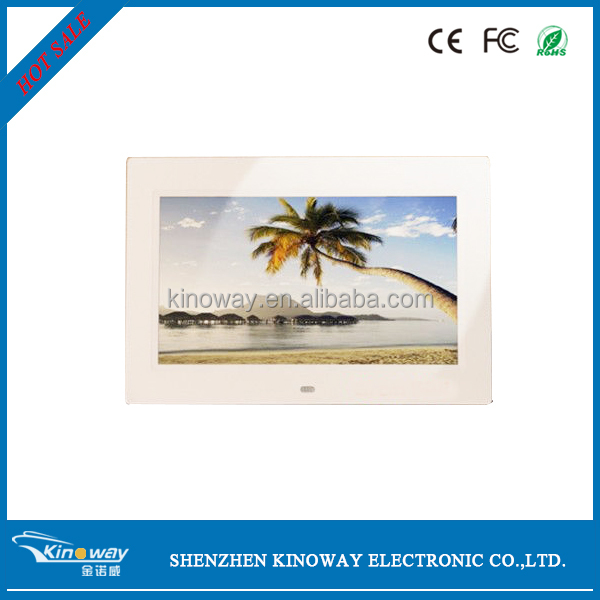 "12 years facroty!Best quality screen 10"" DIGITAL PHOTO FRAME ,CE/FCC/ROHS/ISO9000/BSCI"