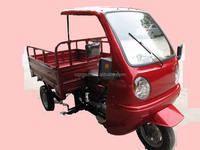 cargo three wheeler/cabin tricycle/cabin 3 wheel motorcycle