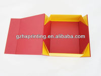 decorative folding paper box template made in China
