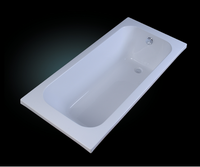 varied bathtub size enamel steel bathtub with legs