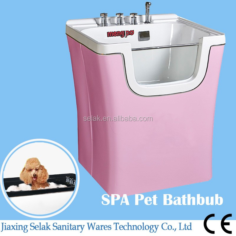 pet product big plastic SPA nanobubble dog grooming supplies bathtub
