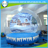 2015 hot sale giant christmas inflatable snow globe
