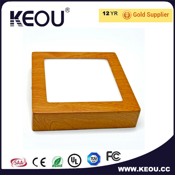 Surface mounted 4w 6w 8w 10w 20w 24w led ceiling lamp square Silver housing