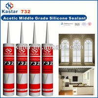 Acetoxy Cruing Acetic Silicone Sealant
