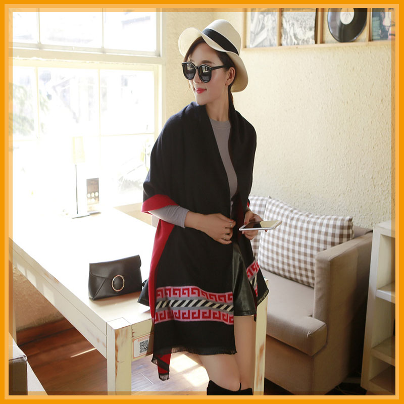 hot sell wholesale thicken pashmina scarf shawl
