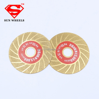 4'' Ultra thin electroplated diamond cutting saw blade cutting disc for glass cutting