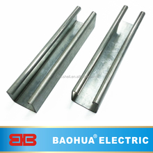 Slotted galvanized Strut C channel unistrut made in china struts