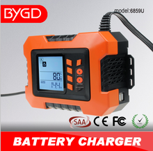 BYGD 2A 4A 8A 12A lead acid battery tester charger battery charger