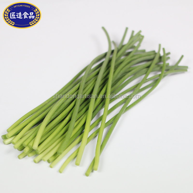 Manufactory wholesale green garlic sprout for supermarket
