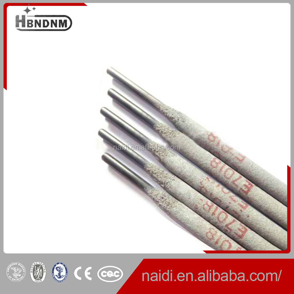 welding electrode e7018 composition