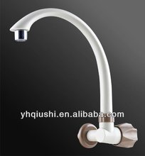 single hole single handle popular outside plastic kitchen faucet tap sink basin faucet F-02