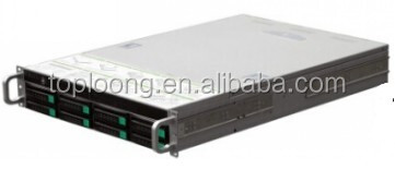 High quality R265-8 MS 2U rack mount hot swap storage server case with quality fine 6Gb/s SATA SAS backplane