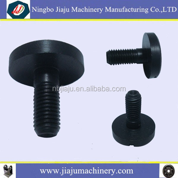 Ningbo Jiaju grooved large cap screws / round head machine screw / ball screw