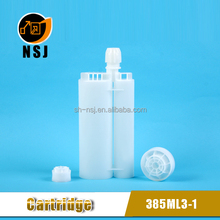 385ml 3:1 AB Small Clear Plastic Bottle