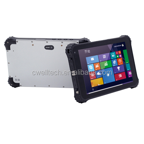 New product Winpad W82 8 inch Intel Z3735F Quad Core IP67 Waterproof Rugged Window Tablet PC with NFC 1D/2D Optional