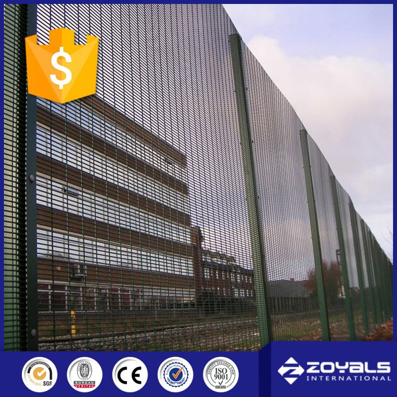 Best Sell On Time Supply Anti-Climb Pvc Welded Wire Mesh Fence