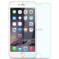 Cellphone accessories 9H tempered glass screen protector for iphone 6 plus 5.5