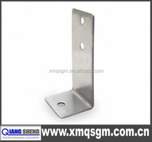 adjustable slotted right aluminum galvanized stainless steel angle bracket