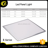 Gola Ultra-tin slim sliver 60x60 30W SMD2835 led ceiling panel light led panel light surface mounted square flat panel light