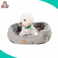 chinese cheap stuffed pet bed plush dog bed luxury