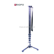 TRIOPO DV-27 Aluminum and carbon fiber Photo/Video monopod for camera