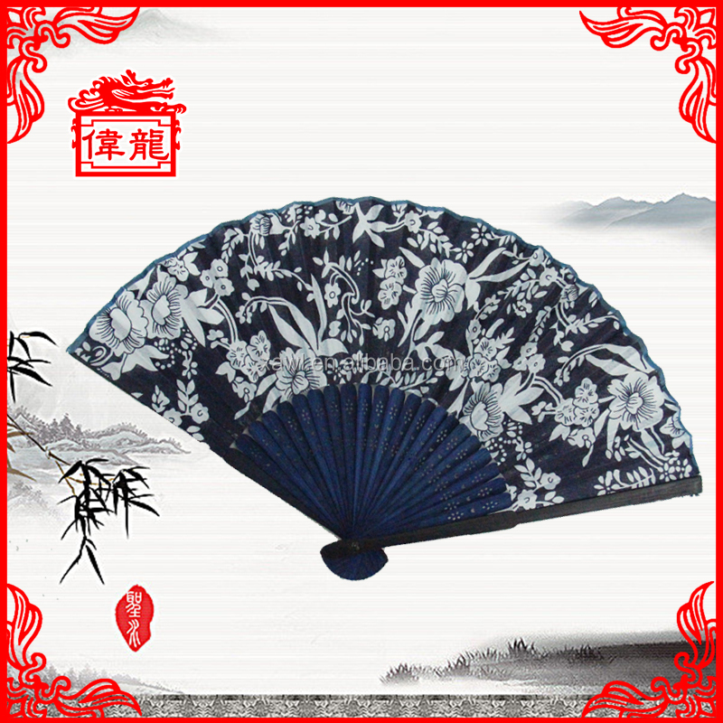 High quality cheap antique bamboo hand fans frame for sale GYS913-5