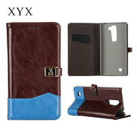 for lg g4 mobile phone, customised logo magnetic closure flip case