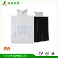 All in one china factory directly sale 8w 12w 15w 18w 20w 25w 30w 40w 50w 60w 70w 80w led solar integrated street lights