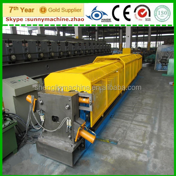 China made downpipe/downspout/round and square waterspout roll forming machine