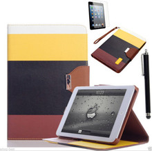 For iPad Air 2 / iPad air / iPad mini 2 retro flip leather smart case smart cover