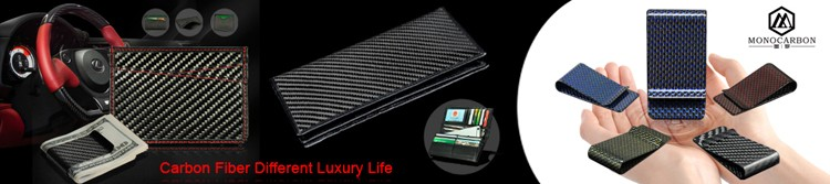 Wholesale Hot Selling Flat Carbon Fiber Money Clip Bottle Opener