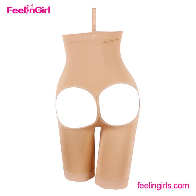Perfect Body Control Shapewear Open bust Bodysuit Body Shaper Black