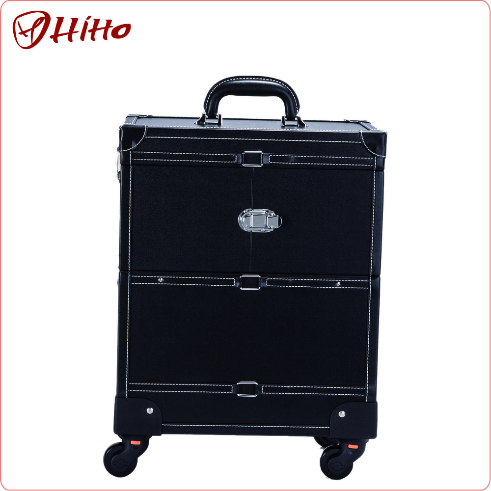 New Year Shopping Aluminum Cosmetic Display Case With Iso