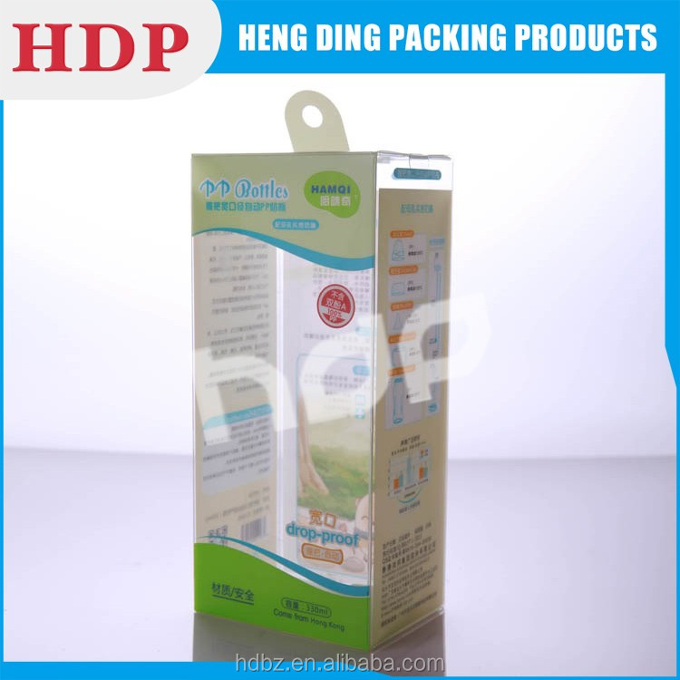 factory offer transparent plastic box auto bottom pvc box